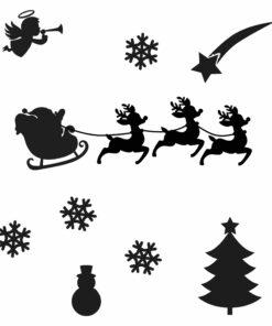 kerst sticker