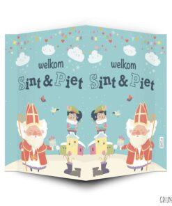 Raambord welkom Sint en Piet