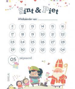 Sinterklaas aftelkalender gratis download grijnss