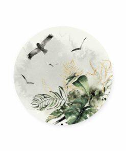 muurcirkel jungle vogels